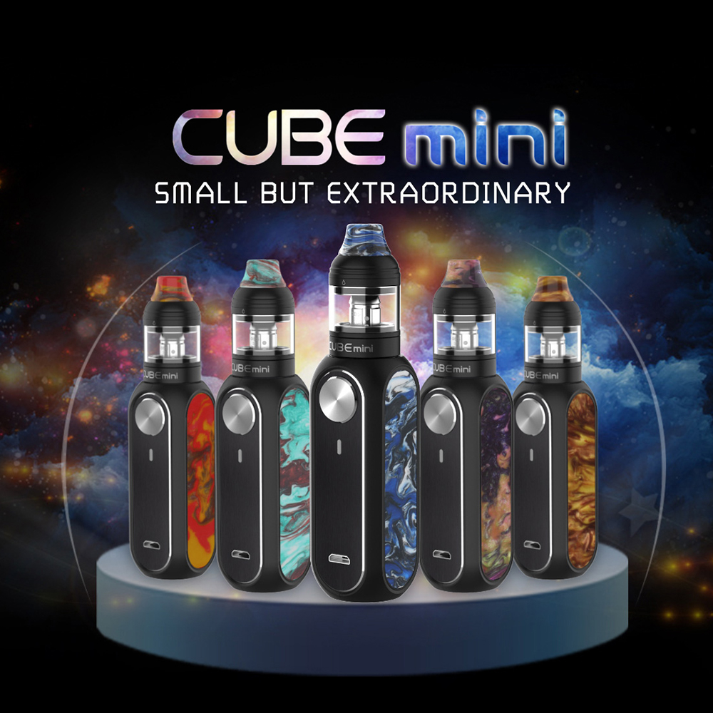 Newest Original OBS Cube Mini Resin Starter Kit 1500mAh Battery 3ml Tank 0.96 Inch LED Screen Ecig Vape Kit VS Cube VW /Drag 2