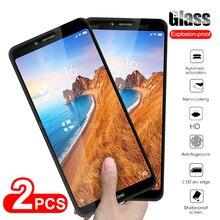 2pcs Protective Glass For Xiaomi Redmi 7A 8A 8 7 A Screen Protector Tempered Glass For Xiaomi Redmi 5A 6A 5 6 A Safety Glas Film