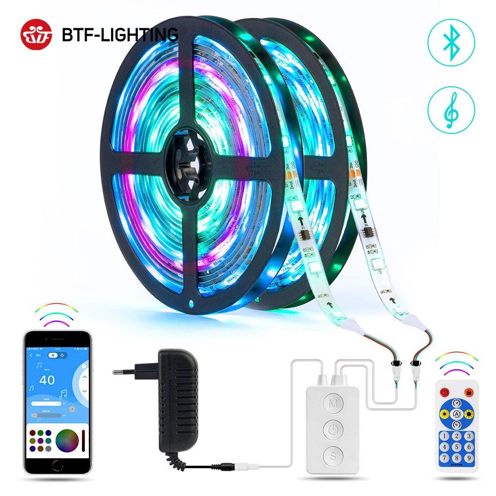 Tira conduzida flexível multicolorido 5m-20m da luz do diodo emissor de luz para a cozinha da festa do quarto da tevê da sala