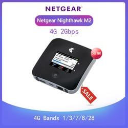Entsperrt Netgear Nighthawk M2 MR2100 cat20 4GX Gigabit 4G 2Gbps 5CA Mobile WiFi Hotspot + 2PCS 5dai antennen