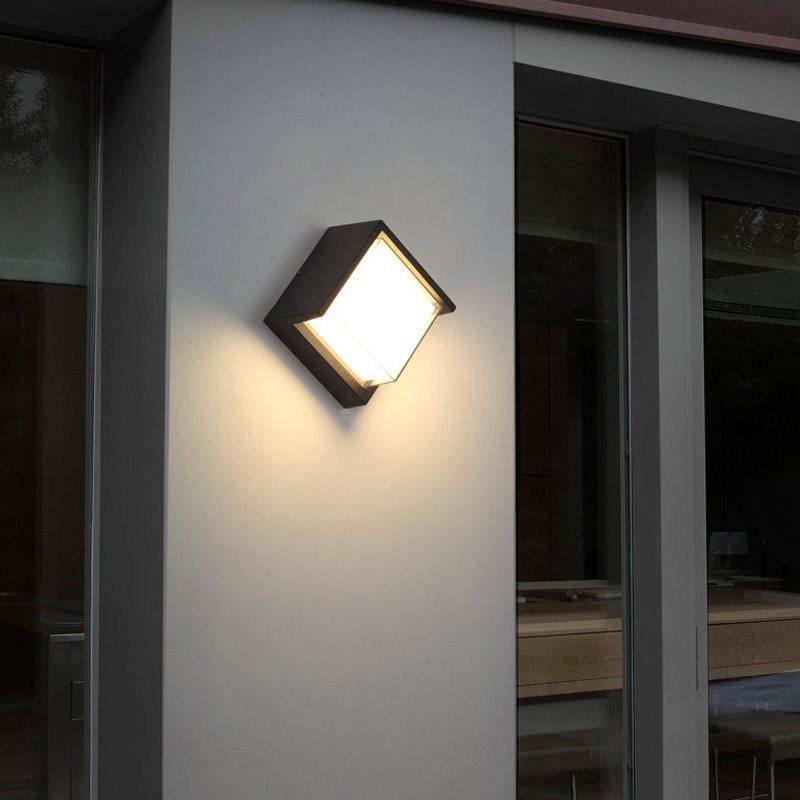 Kenlux 7W Led Wall Light energy saving square light indoor outdoor Waterproof lamp Modern garden Lamp