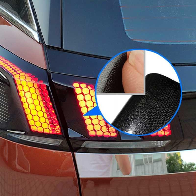 Автомобильные аксессуары задний фонарь лампа сотовая Защитная Наклейка аксессуары для peugeot 3008/3008 GT 2016-2019