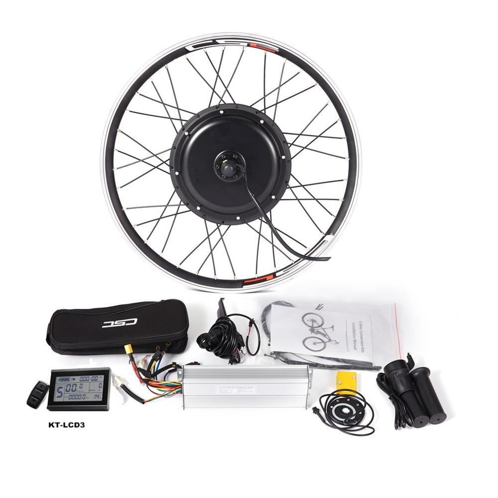 Горный Электрический заднее колесо велосипеда Conversion Kit регенерации Функция с KT-LCD3 Дисплей Корабль из США/Россия/Испания/Китай (материк)