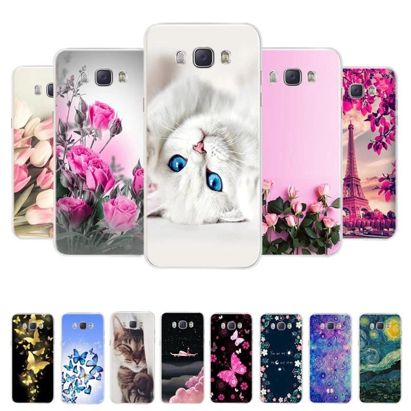 Coque de téléphone Samsung Galaxy J7 2016, étui arrière, couverture 3D, pour Samsung Galaxy J7 2016 J710F