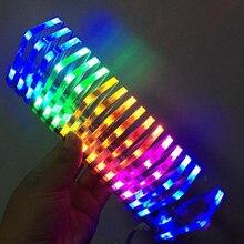 KS16 DIY LED Music Spectrum Dream Crystal Voice Column Light Cube LED Level Display Electro
