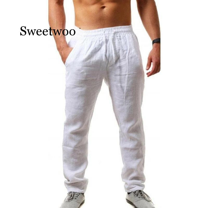 2020 Spring Summer Men's Trousers Thin Breathable Loose Slacks Pants for Male Ultra-thin Small Feet Trousers Casual pants