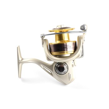 цена на Metal Body Spinning Fishing Reel 6 Bearings Metal Carp Fishing Wheel Spinning Reel For Fishing Accessories