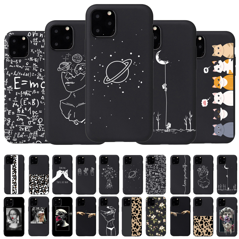 Complex Formula Phone Cases <font><b>For</b></font> <font><b>iphone</b></font> 7 8 Plus X 5S SE Case Universe <font><b>For</b></font> <font><b>iphone</b></font> <font><b>6</b></font> Plus XR XS 11Pro Max Frosted Soft Back <font><b>Cover</b></font> image