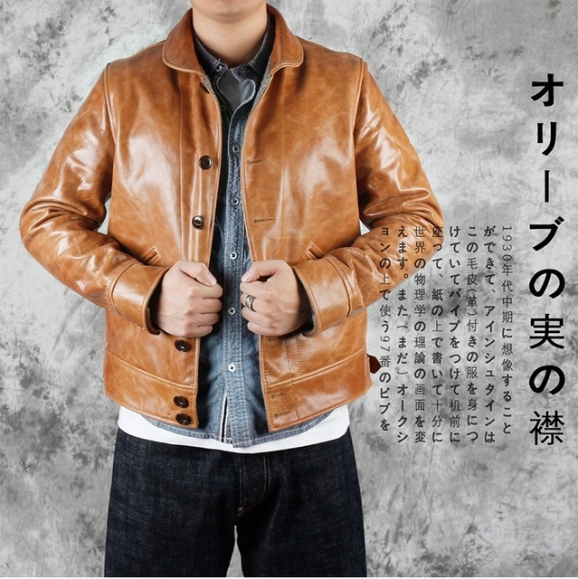 YR!Free shipping.Brand new japan casual style oil cowhide jacket,man fashion slim tanning genuine leather coat,winter warm