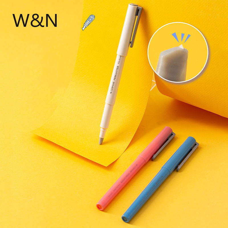 2020 Creative Utility Knife Pen Ceramic Blade DIY Scrapbooking Paper Cutting Safe Art Tool Kits For Student School Stationery