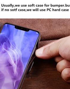 Image 3 - עסקי עור אמיתי צד מגנטי אבזם ארנק טלפון מקרה כרטיס מחזיק לסמסונג גלקסי A10 A30 A40 A50 A60 A70 טלפון תיק
