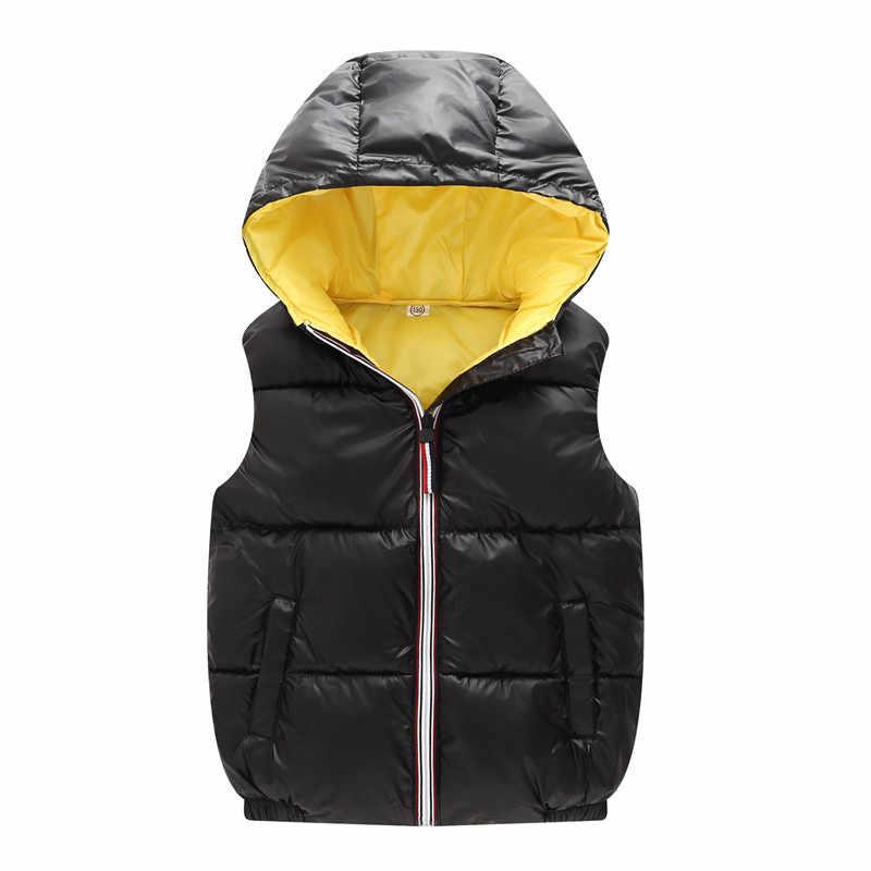אופנה חדש ילדה חם אפוד ילד מעיל ילדי הלבשה עליונה חורף מעילי ילדים בגדי בני סלעית כותנה מעיל תינוק בנות בגדים