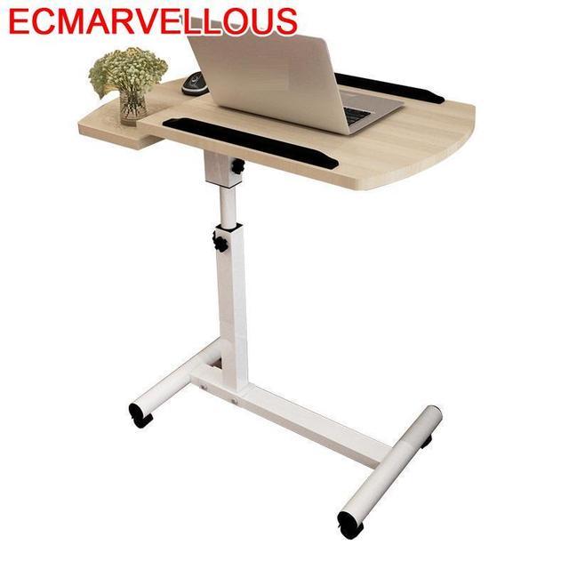 BSDT 다 노벨 더블 리프팅 360 360도 회전 게으른 노트북 comter 책상, 침대 옆 테이블 랜드 모바일 방사선