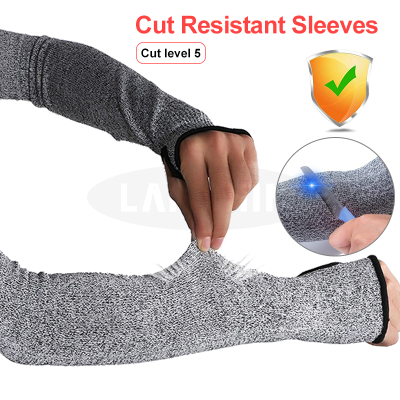 Anti Cut Arm Sleeves Protects The Arm From Heat And Cutting Cut Resistant Sleeves Safety Gloves 5 Level Anti Cut Arm Sleeves