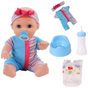 25cm Silicone Reborn Doll Simulation Baby Bebe Dolls Reborn Soft Toddler Baby Toys For Girls Child Birthday Christmas Gifts bebe reborn doll silicone reborn reborn baby dolls lol doll brinquedos boneca reborn christmas gift for girl birthday npk
