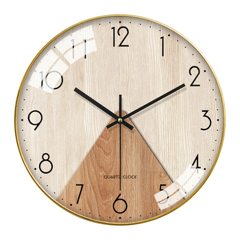 Bedroom Glow Nordic Wall Clock Glass Modern Design large kitchen Wall Clocks Decorative Living Room unique wall clock II50BGZ