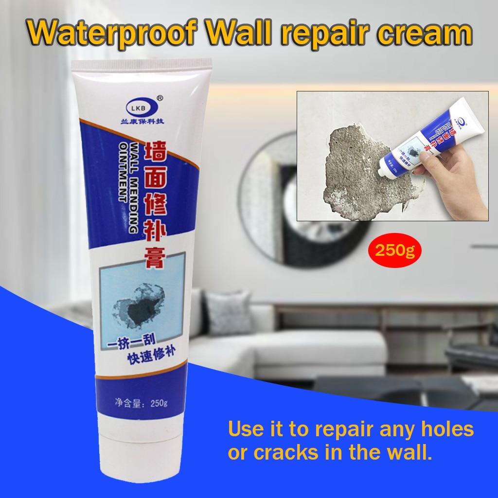 Wall Repair Ointment Magic White Latex Paint Waterproof Wall Repair Cream Household Hole Repair Wall Repairing Ointment Cleaner