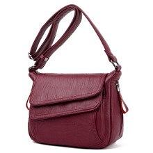 Summer Style Soft Leather Luxury Handbags Women Bags Designer Woman Messenger Shoulder Crossbody Bags For Women 2020 Sac A Main