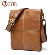 JOYIR Genuine Leather Men Bags Male Cowhide Flap Ba
