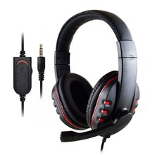 1 Pcs Subwoofer Headphones 3.5Mm Audio Gaming Headphone Headband With Mic Stereo Bass Game Playing Headset kotion each g1200 gaming headset 3 5mm game headphone headband gaming headphone with mic stereo bass for pc laptop mobile phones