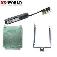 Новый SATA SSD HDD кабель Caddy Tray Серебристая бумага для ноутбука Lenovo ThinkPad T470 A475 T480 A485 00UR495 DC02C009L00 SC10G75198