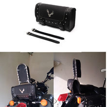 Triclicks Motorcycle Bags Black PU Leather Saddle Bag Motorcycles Side Storage Tool Bags For Harley Sportster Luggage Saddlebag bjmoto brown motorcycle pu leather left right side saddlebag saddle bag luggage bag tool bags storage for harley sportster