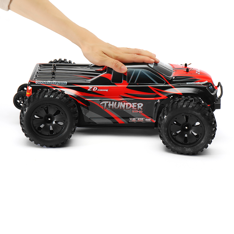 ZD Racing 9106-S RC Car 1:10 Radio Control Car Thunder 2.4Ghz 4WD Brushless 70KM/h High Speed Crawler Monster RTR Toys For Kids