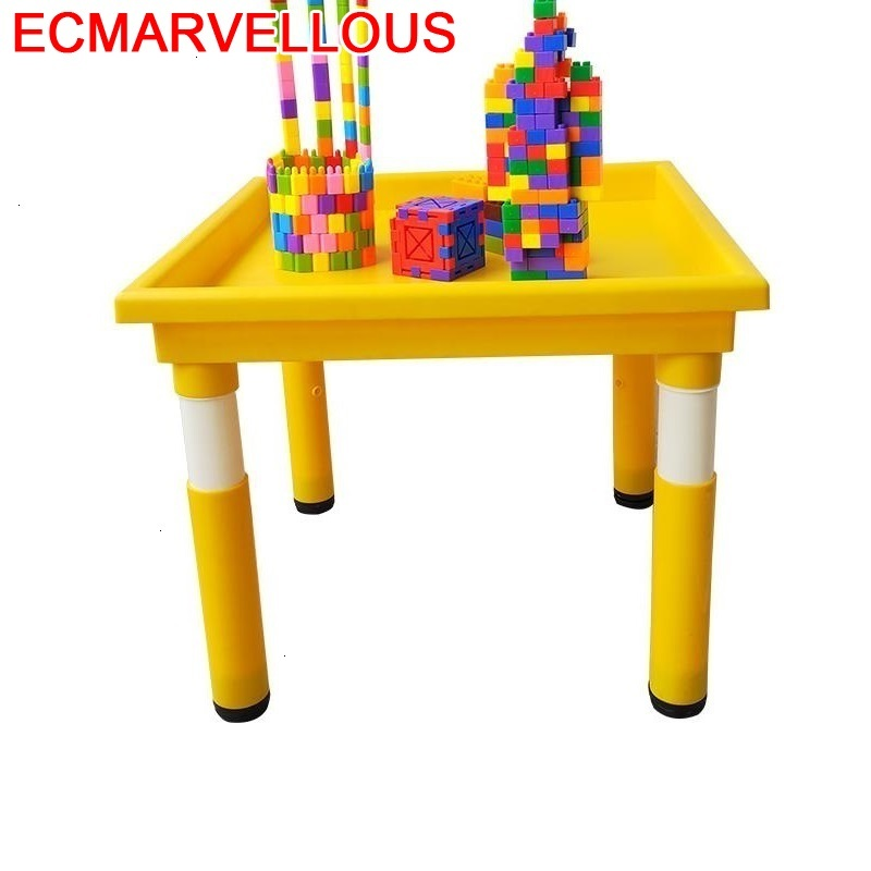 Infantil Tavolo Per Avec Chaise Scrivania Bambini Plastic Game Kindergarten Bureau Enfant Kinder Study For Kids Children Table