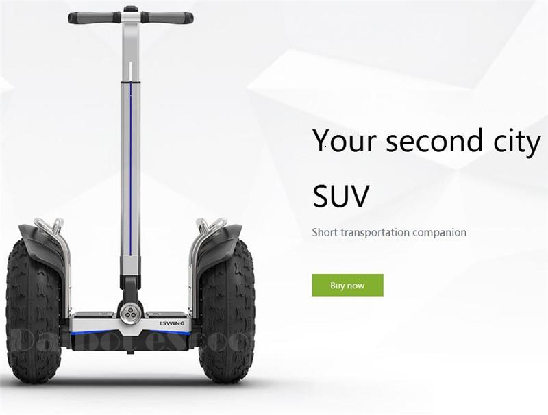 New Off Road Electric Scooter Personal Golf Carts 19 Inch Self Balancing Hoverboard 2400W Electric Golf Scooter With GPSAPP (7)