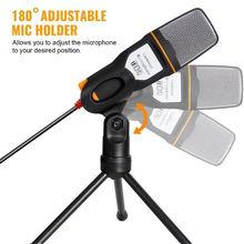 Конденсаторный микрофон 35 мм Студийный для подключения и воспроизведения