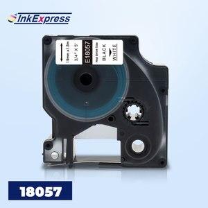 Совместимый с DYMO 18057 этикетка Rhino IND термоусадочная трубка этикетка 18057 промышленная кассета для DYMO Rhino 4200 5200 6500 производитель этикеток