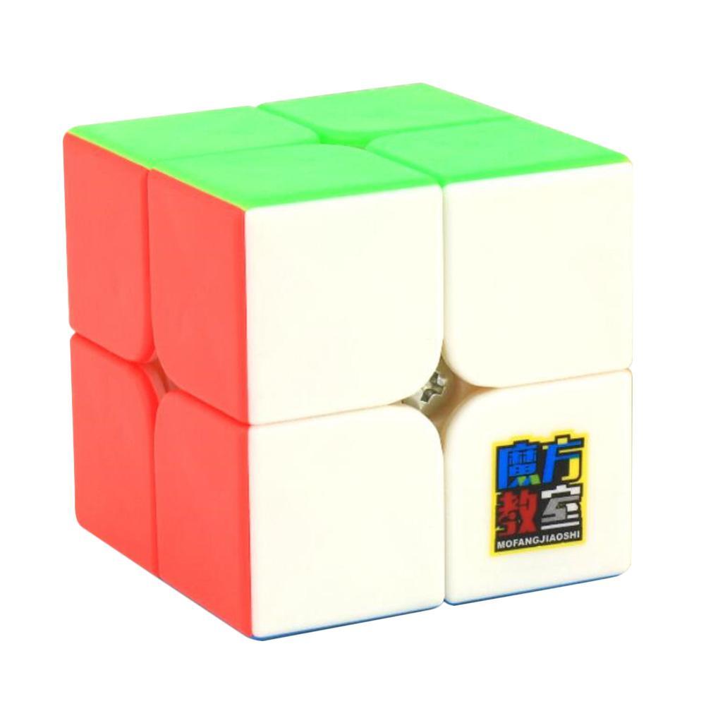 Cubo de rompecabezas de superficie mate MOYU 2x2, cubo inteligente para el desarrollo intelectual, juguete antiestrés para ansiedad de alivio Cubo mágico sin etiqueta MoYu 3x3x3 meilong, Cubo de rompecabezas, cubos de Velocidad Profesional, juguetes educativos para estudiantes