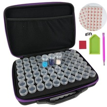 New Diamond Painting Accessories Carry font b Case b font Container Storage Box 60 Bottles diamant