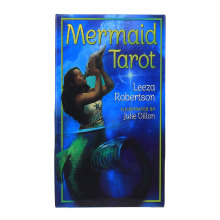 Mermaid Tarot Cards Oracles Divination Deck Board Games English For Family Party Tarot Game