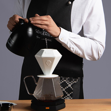 Brewista Coffee Pot Heat-resistant Glass Hand-made Coffees Sharing Pot V60 Spiral Filter Cup 2-4 Cups Coffee Drip Machine