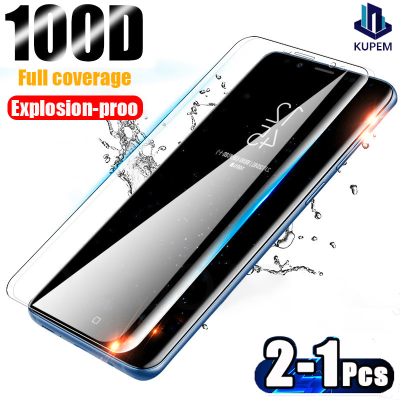 Tempered Glass For Samsung Galaxy S10 Plus Glass S8 S9 Screen Protector S10e S 9 8 10 e Note 9 10 S20 Ultra s10 lite Protection