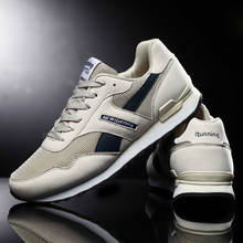 Brand Unisex Casual Sneakers Men Lightweight Breathable Luxury Leather Running