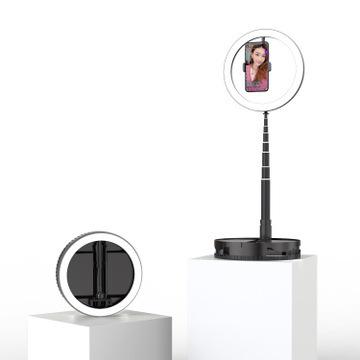 Led beauty selfie fill light lampa pierścieniowa do lądowania netto red live wielofunkcyjny chowany przenośny bez demontażu tanie tanio ODIFF Guangdong China Weight 0 45 kg
