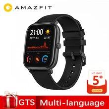 Глобальная версия Amazfit GTS Смарт-часы 1,65 дюймов AMOLED 341 ppi экран 5 АТМ 14 дней батарея gps управление музыкой