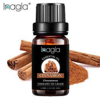 Inagla 10ML cynamon cytronella olejki eteryczne 100 czyste naturalne czyste olejki eteryczne do aromaterapii dyfuzory olej do pielęgnacji powietrza tanie i dobre opinie Czysty olejek eteryczny CN (pochodzenie) Essential oil Cinnamon CHINA 1 x Essential Oil Aromatherapy Massage Spa Bath Fragrance