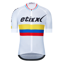 Columbia  Bike Team Racing Cycling Jersey Tops Summer Bicycle Cycling Clothing Ropa Ciclismo Breathable MTB Bike Jersey Shirt 2020 cycling jersey women bike jersey road mtb bicycle shirt team ropa ciclismo maillot racing tops female clothes uniform green