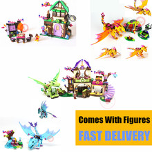 NEW Fairy Elves Dragon Compatible Friends Figures City Building Blocks Kit Bricks Toys Kid Girls Birthday Gift Xmas