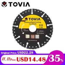 TOVIA 125mm Diamond Circular Saw blade Multi Cutting Universal Disc Multipurpose Angle Grinder Saw Disc Power Tool Accessories