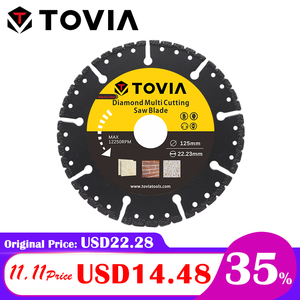 Image 1 - TOVIA 125mm Diamond Circular Saw blade Multi Cutting Universal Disc Multipurpose Angle Grinder Saw Disc Power Tool Accessories