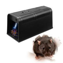 WINOMO Electric High Voltage Mouse Rat Trap Electronic Rodent Zapper Electrocute Home Use Pest Control For Outdoor Garden