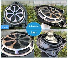 8 cal bass horn dla Benz W205 GLC X253 W213 C GLC E C260 E300 serii głośnik subwoofer o tym co chcesz poweraudio głośnik tanie tanio ALOONGACARR CN (pochodzenie) Wielu tone claxon rogi 2016-2020