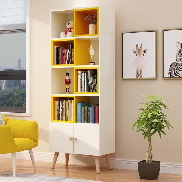 Credenza Side Corner Storage Cabinet  4