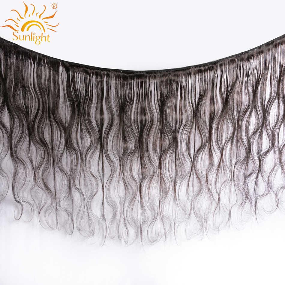 Индийские волосы тела пучки волнистых волос натуральные человеческие волосы плетение пучки солнечного света Пряди человеческих волос для наращивания 1B # Волосы remy 1/3/4 шт.