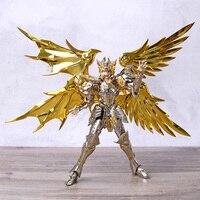 Saint Seiya Saga Gemini Gold Saint Metal + PVC Action Figure Collection Movable Model Toy