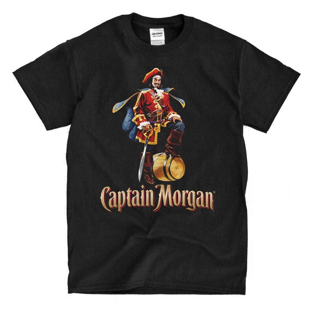 Captain Morgan Rum Black T-Shirt - Ships Fast! High Quality! 2019 Unisex Tee